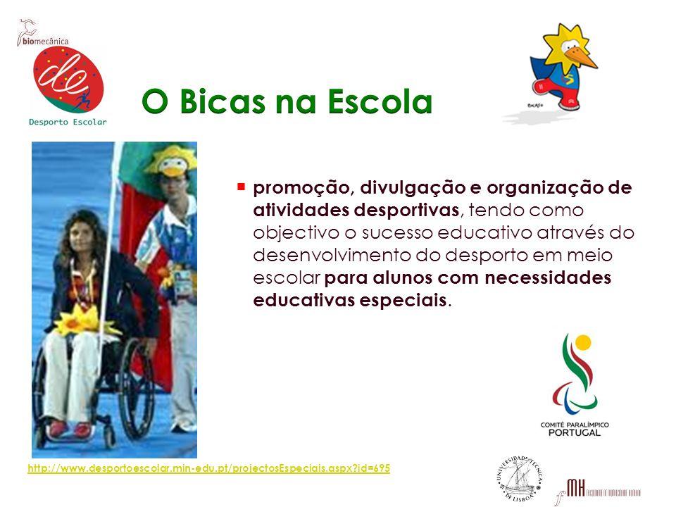 promoção, divulgação e organização de atividades desportivas, tendo como objectivo o sucesso educativo através do desenvolvimento do desporto em meio