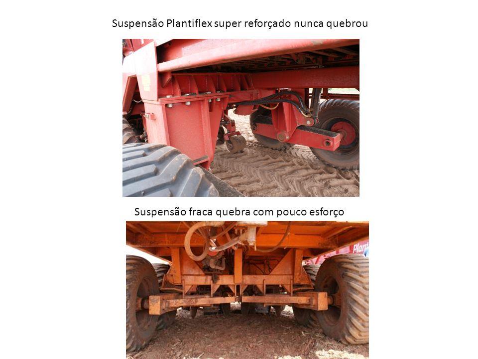 Suspensão Plantiflex super reforçado nunca quebrou Suspensão fraca quebra com pouco esforço