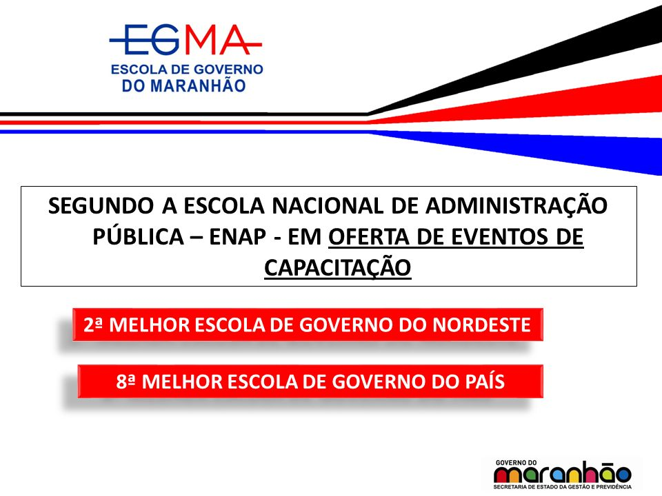 PRECEITO INSTITUCIONAL elevar o nível de profissionalização do serviço público estadual.