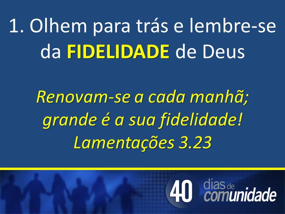 FIDELIDADE 1.