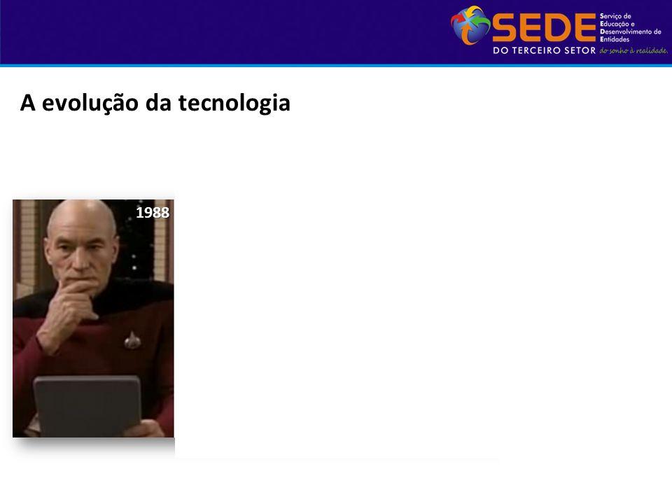 A evolução da tecnologia1988200220102012