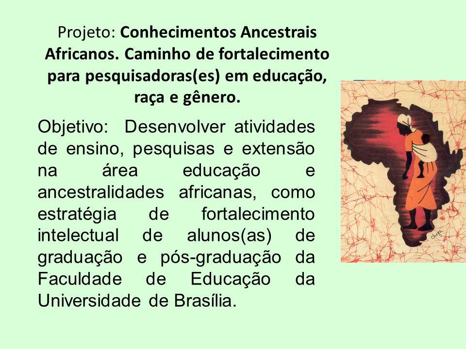 Projeto: Conhecimentos Ancestrais Africanos.