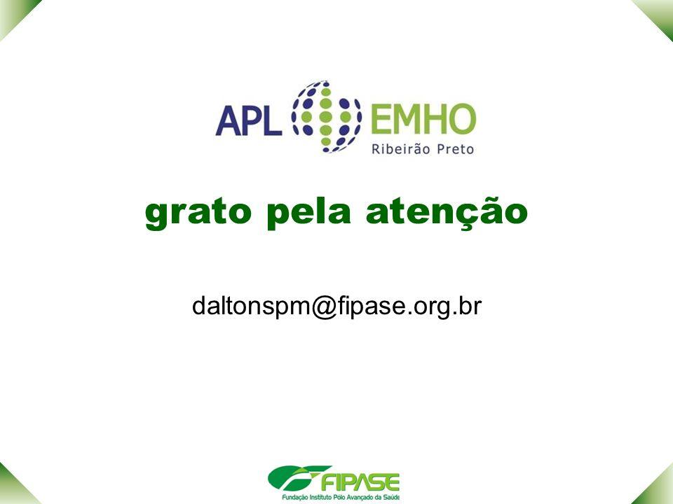 grato pela atenção daltonspm@fipase.org.br