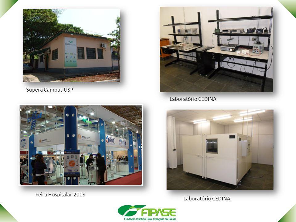 Supera Campus USP Laboratório CEDINA Feira Hospitalar 2009
