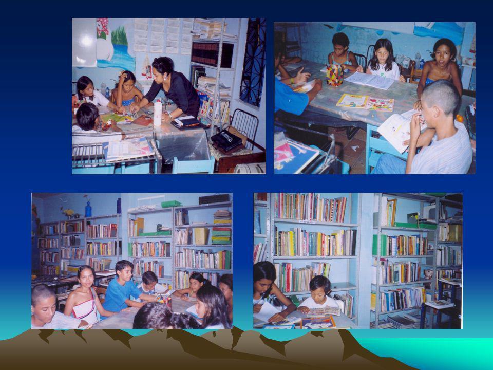 Oficina de Leitura com crianças de escola pública – Fortaleza - CE