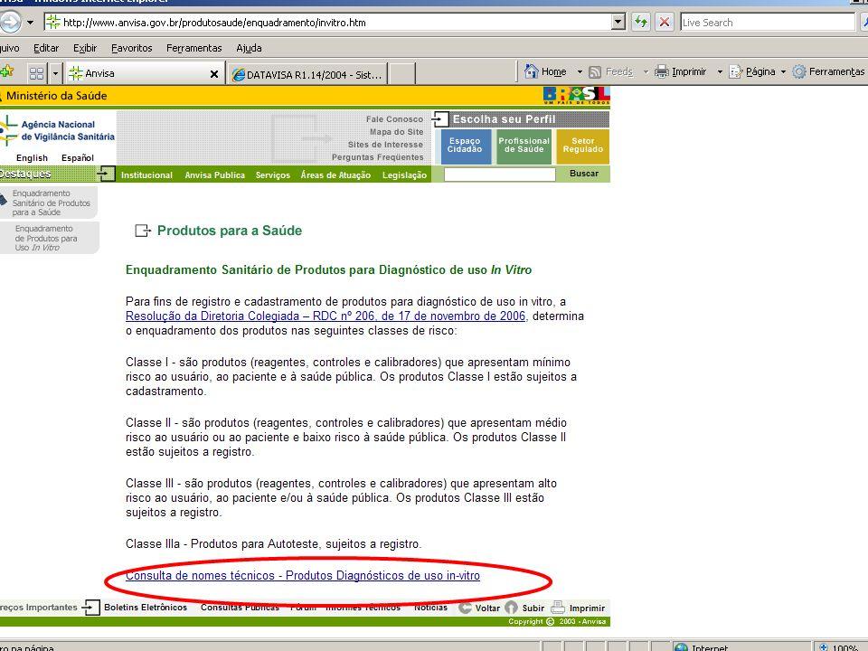 Agência Nacional de Vigilância Sanitária www.anvisa.gov.br Indicar o volume e quantidade de frascos.