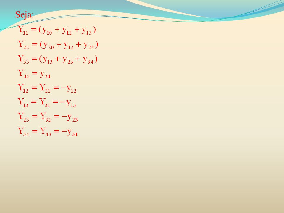 O fluxo de potência reativa nas linhas pode ser calculado pelas seguintes fórmulas: O cálculo do fluxo de potência na linha 2-1 :