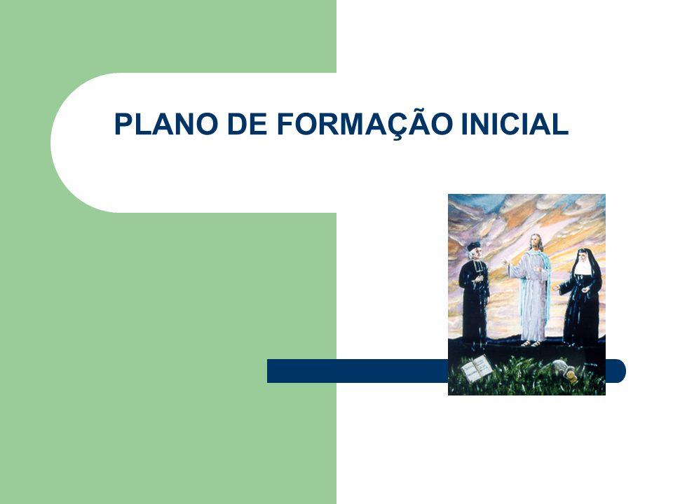 PLANO DE FORMAÇÃO INICIAL