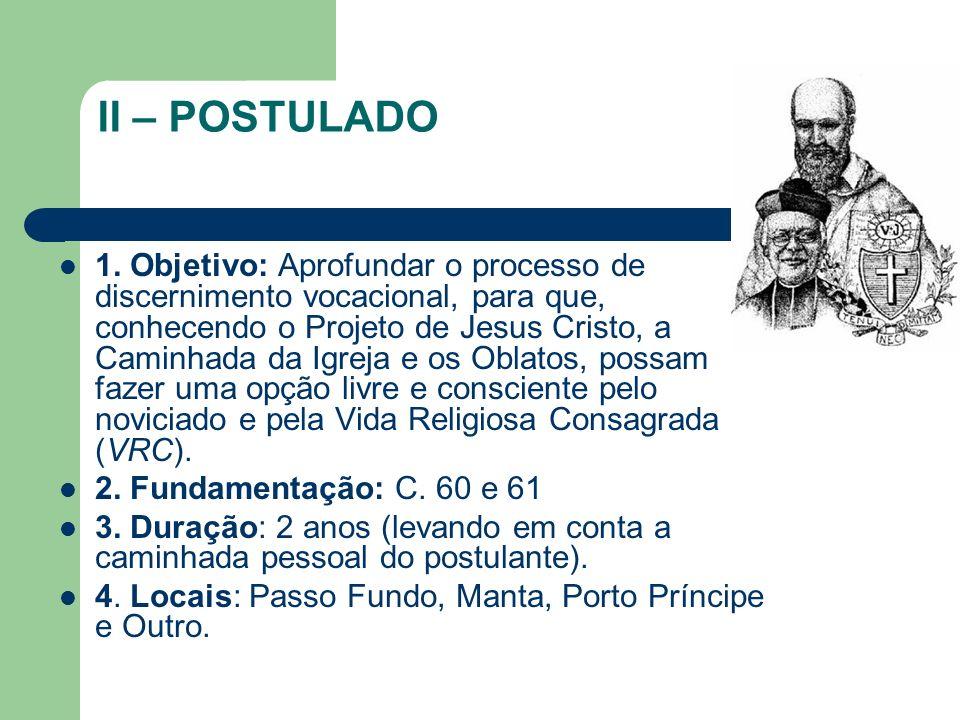 II – POSTULADO 1.