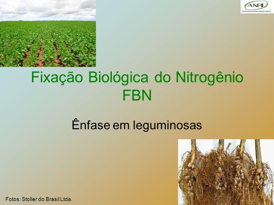 1 Fixação Biológica do Nitrogênio FBN Ênfase em leguminosas Fotos: Stoller do Brasil Ltda.