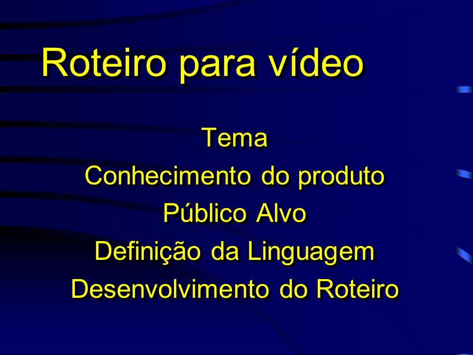 Tipos de vídeo DocumentárioDocumentário Lançamento de ProdutoLançamento de Produto DidáticoDidático TreinamentoTreinamento MotivacionalMotivacional In