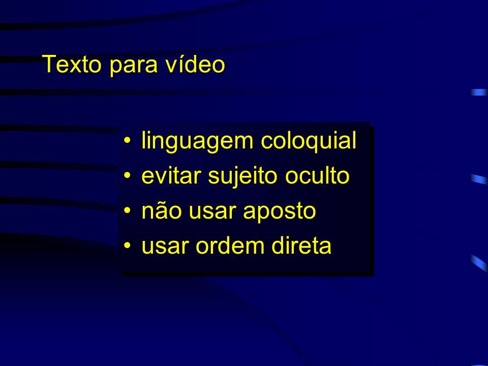 Roteiro para vídeo Conjunto dos ítens: ProdutoProduto Público-AlvoPúblico-Alvo LinguagemLinguagem Conjunto dos ítens: ProdutoProduto Público-AlvoPúbli