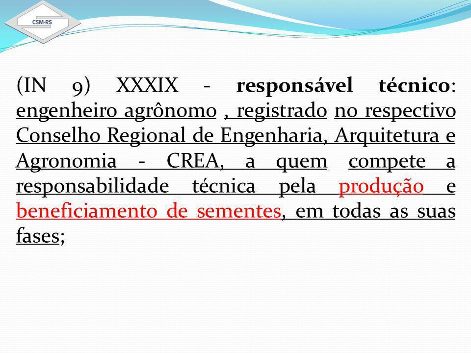 8.CRONOGRAMA DE EXECUÇÃO DAS ATIVIDADES RELACIONADAS AO PROCESSO DE PRODUÇÃO DE SEMENTES.