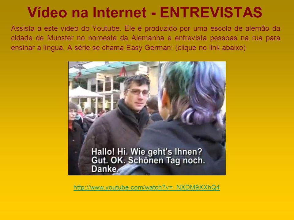 FREUT MICH Para finalizar as apresentações iniciais cabe sempre um muito prazer. Em português o diálogo seria + - assim: Olá, como vai? / Tudo bem, e