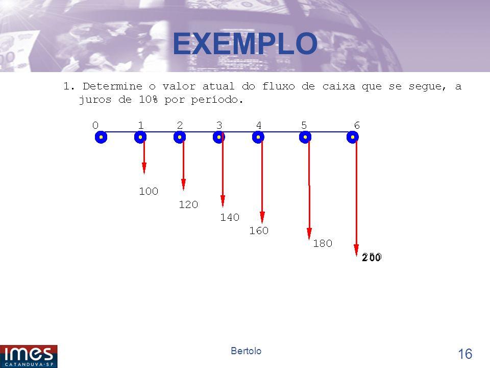 15 Bertolo SÉRIE GRADIENTE Existem fórmulas que não iremos tratá-las aqui.