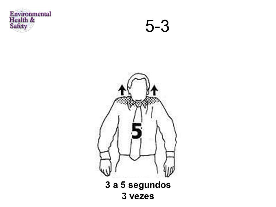 5-3 3 a 5 segundos 3 vezes