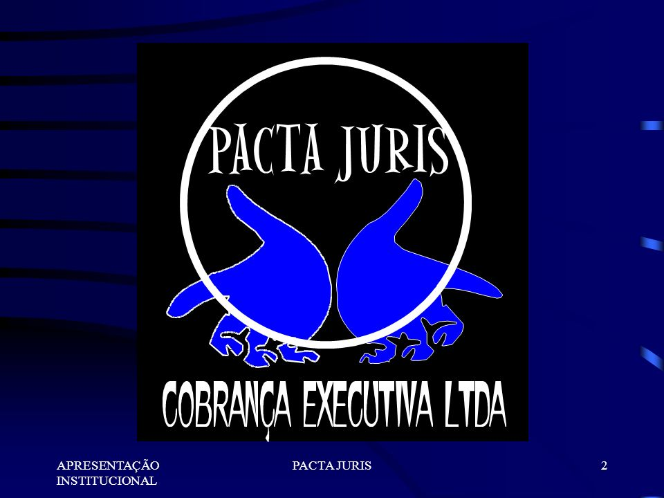 APRESENTAÇÃO INSTITUCIONAL PACTA JURIS22 A DIFERENÇA