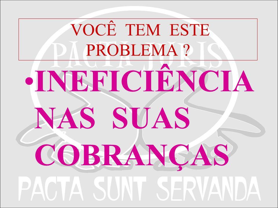 APRESENTAÇÃO INSTITUCIONAL PACTA JURIS28 A FUNÇÃO DE COBRANÇA DE DÉBITOS, PRINCIPALMENTE ATRASOS, DEVEM SER FEITAS POR PROFISSIONAIS, POIS TAMBÉM SE CONSTITUEM EM IMPORTANTES ATIVOS DAS EMPRESAS E DEVEM SER RECUPERADOS.