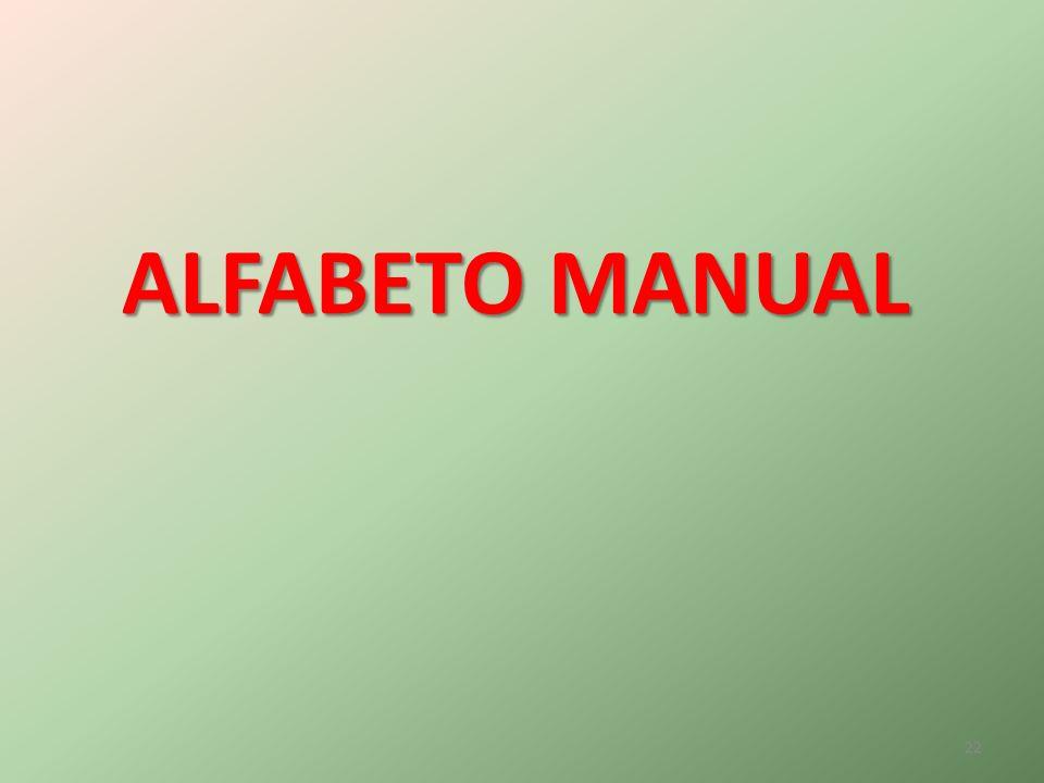 ALFABETO MANUAL 22