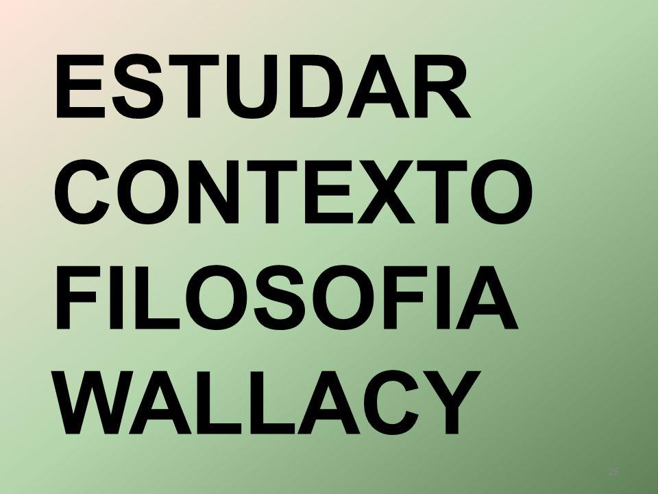 ESTUDAR CONTEXTO FILOSOFIA WALLACY 26