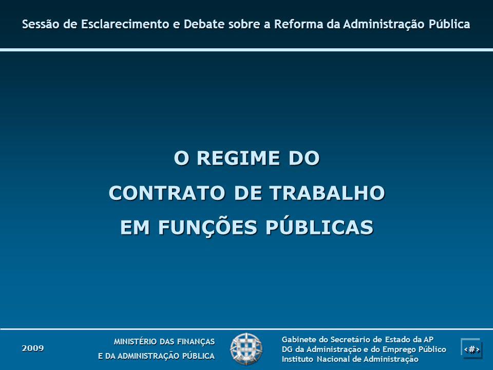 1 1 MINISTÉRIO DAS FINANÇAS E DA ADMINISTRAÇÃO PÚBLICA Gabinete do Secretário de Estado da AP DG da Administração e do Emprego Público Instituto Nacio