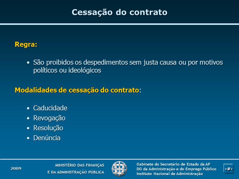 18 MINISTÉRIO DAS FINANÇAS E DA ADMINISTRAÇÃO PÚBLICA Gabinete do Secretário de Estado da AP DG da Administração e do Emprego Público Instituto Nacion