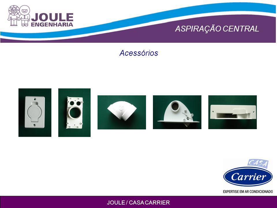 ASPIRAÇÃO CENTRAL JOULE / CASA CARRIER Acessórios
