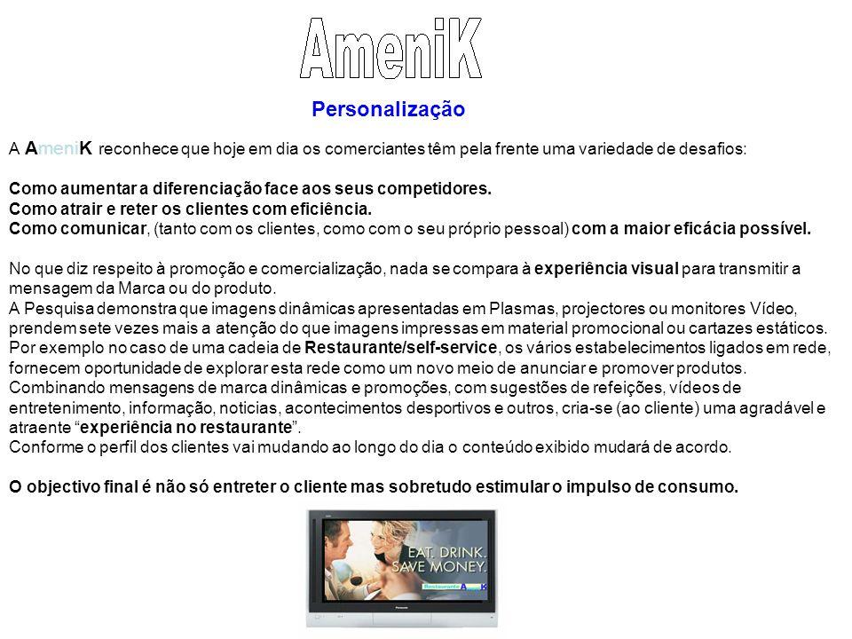 A AmeniK reconhece que hoje em dia os comerciantes têm pela frente uma variedade de desafios: Como aumentar a diferenciação face aos seus competidores.