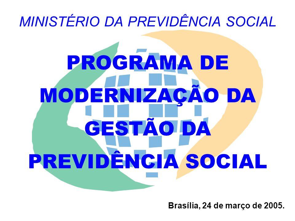MINISTÉRIO DA PREVIDÊNCIA SOCIAL Brasília, 24 de março de 2005.