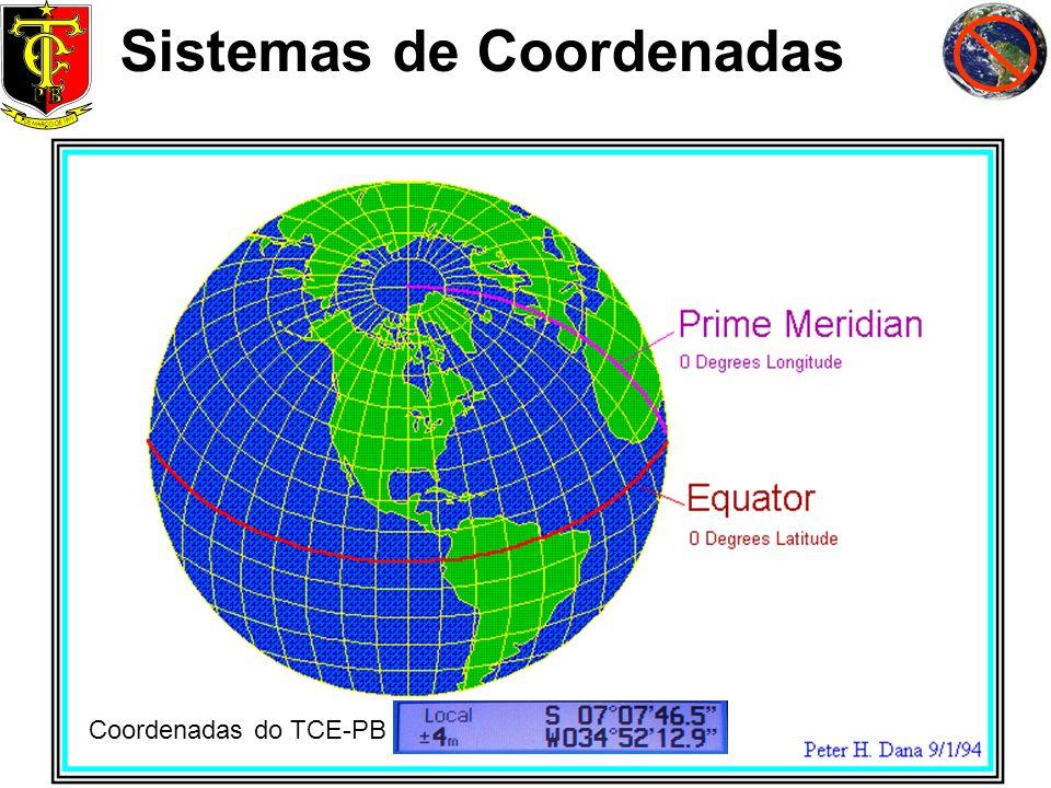 Sistemas de Coordenadas Coordenadas do TCE-PB