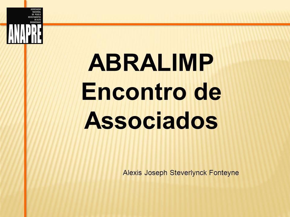 ABRALIMP Encontro de Associados Alexis Joseph Steverlynck Fonteyne
