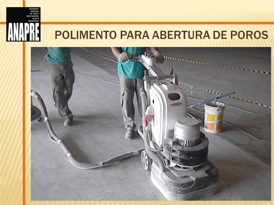 POLIMENTO PARA ABERTURA DE POROS