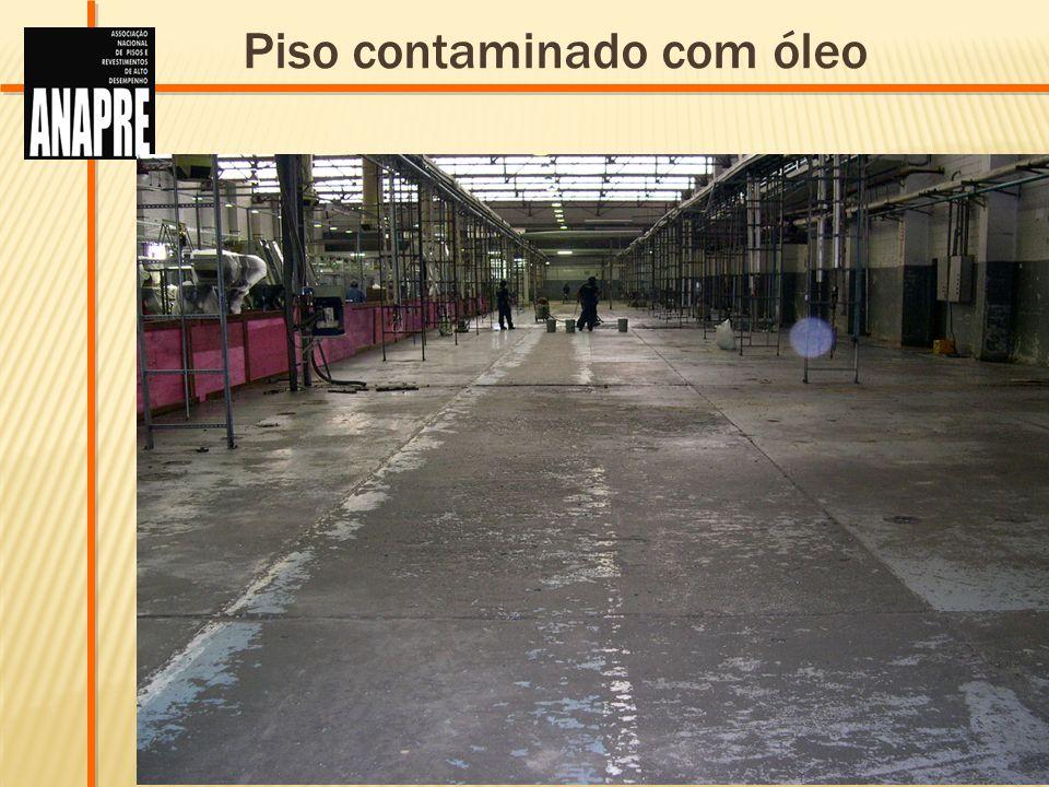 LAPIDAÇÃO POLIMÉRICA DE PISO Um processo inovador de tratamento de piso que alia as vantagens de um revestimento epóxi com a resistência à abrasão e impacto de um piso de concreto