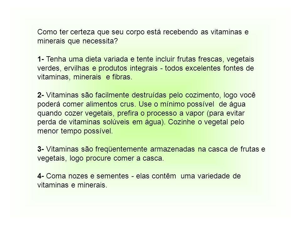 O QUE POSSO COMER!.