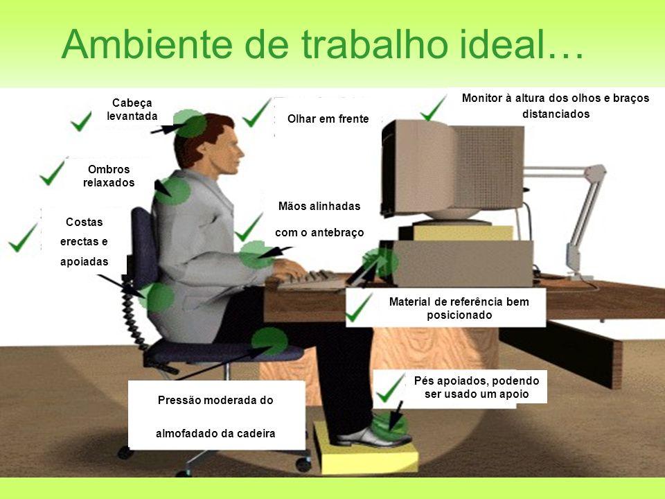 DGRH – Gab.Técnico …Ambiente de trabalho ideal… Elimine qualquer reflexo no seu monitor.
