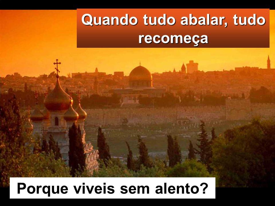 Lc 21, 25-28. 34-36 Naquele tempo, disse Jesus aos seus discípulos: «Haverá sinais no sol, na lua e nas estrelas e, na terra, angústia entre as nações