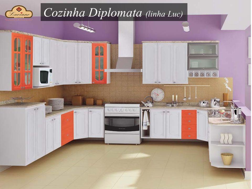 Cozinha Diplomata (linha Luc)