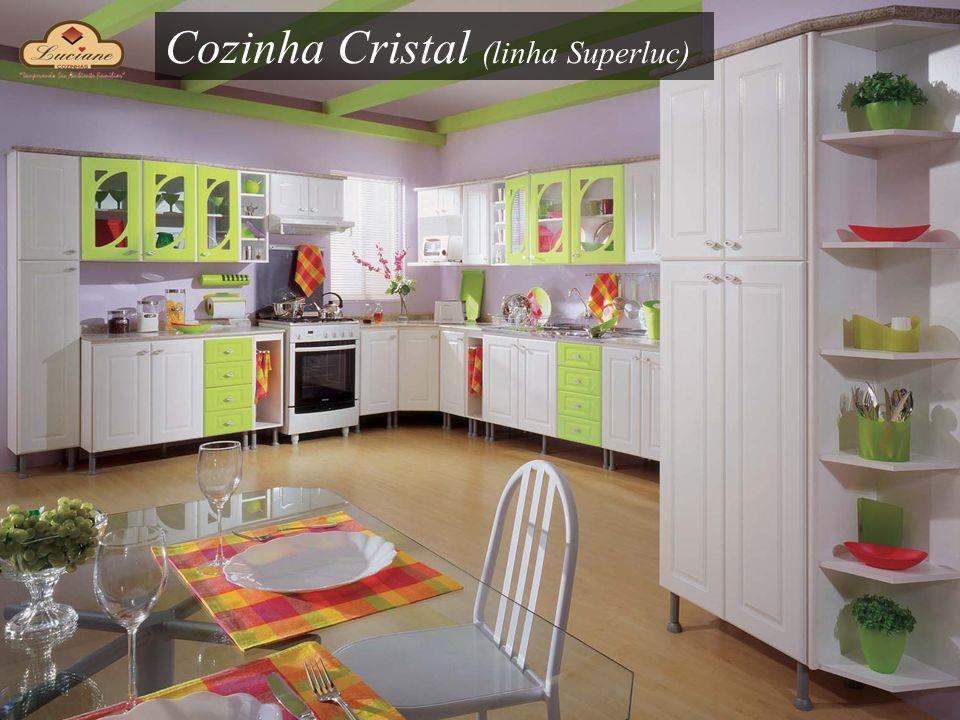 Cozinha Cristal (linha Superluc)