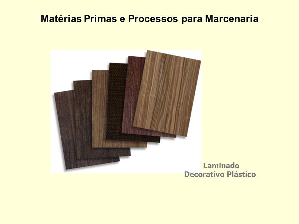 Matérias Primas e Processos para Marcenaria Laminado Decorativo Plástico