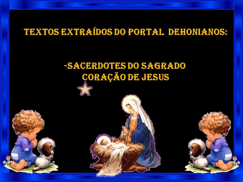 Nós Te damos graças pela vinda misteriosa de Jesus à nossa humanidade, como Filho de David. Nós Te louvamos pela ação do teu Espírito em Maria, por es
