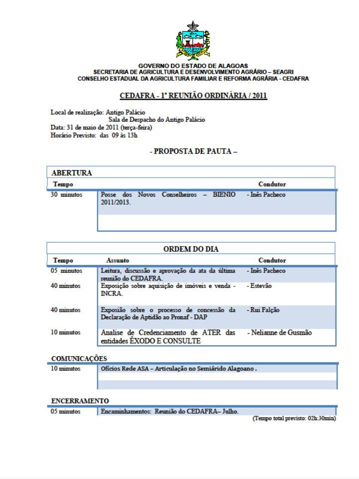 CREDENCIAMENTO DE ATER Câmara de Assistência, Extensão Rural e Pesquisa – CAERP - Seagri - Embrapa -Uneal - Ufal - Instituto Fed.