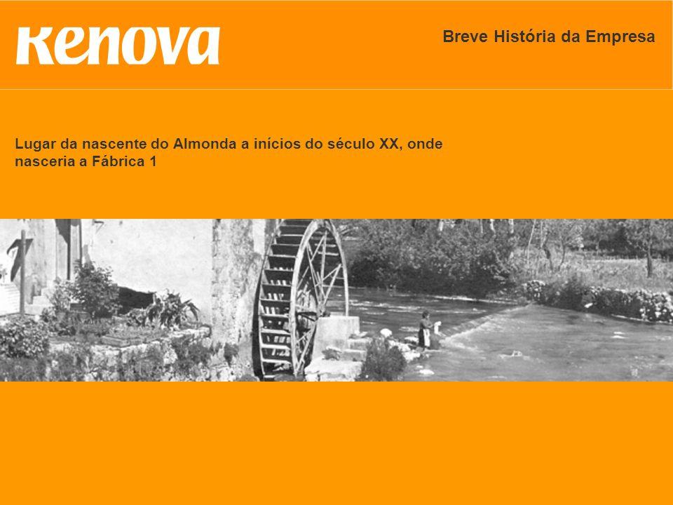 Lugar da nascente do Almonda a inícios do século XX, onde nasceria a Fábrica 1 Breve História da Empresa