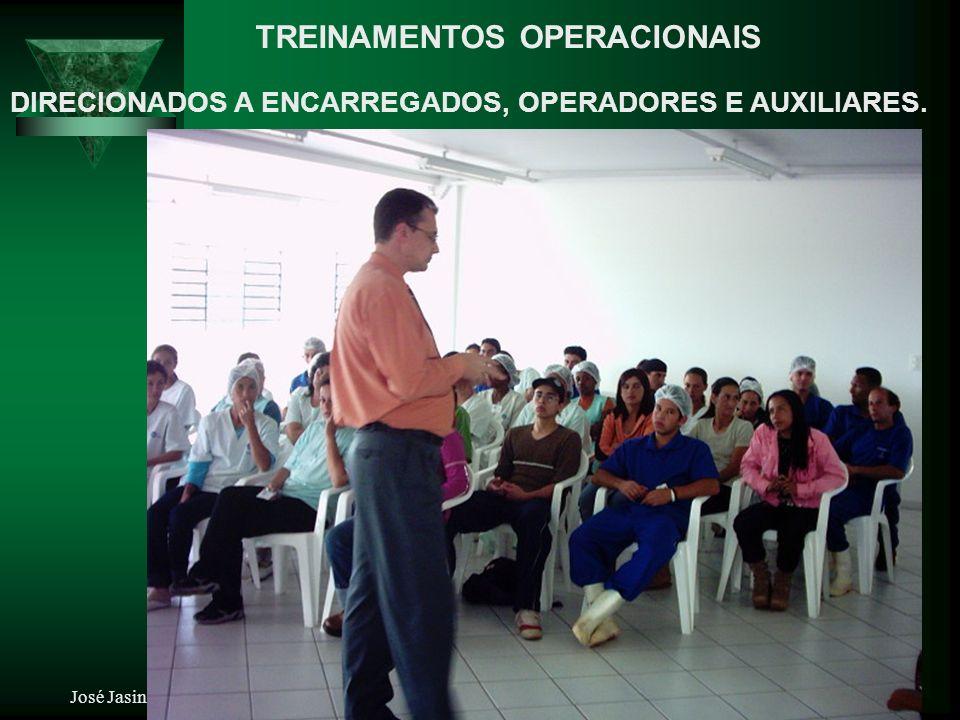 José Jasinski Jr - Gestor de Projetos, Serviços e Qualidade em Lavanderia Industrial, Hospitalar e Comercial TREINAMENTOS OPERACIONAIS DIRECIONADOS A