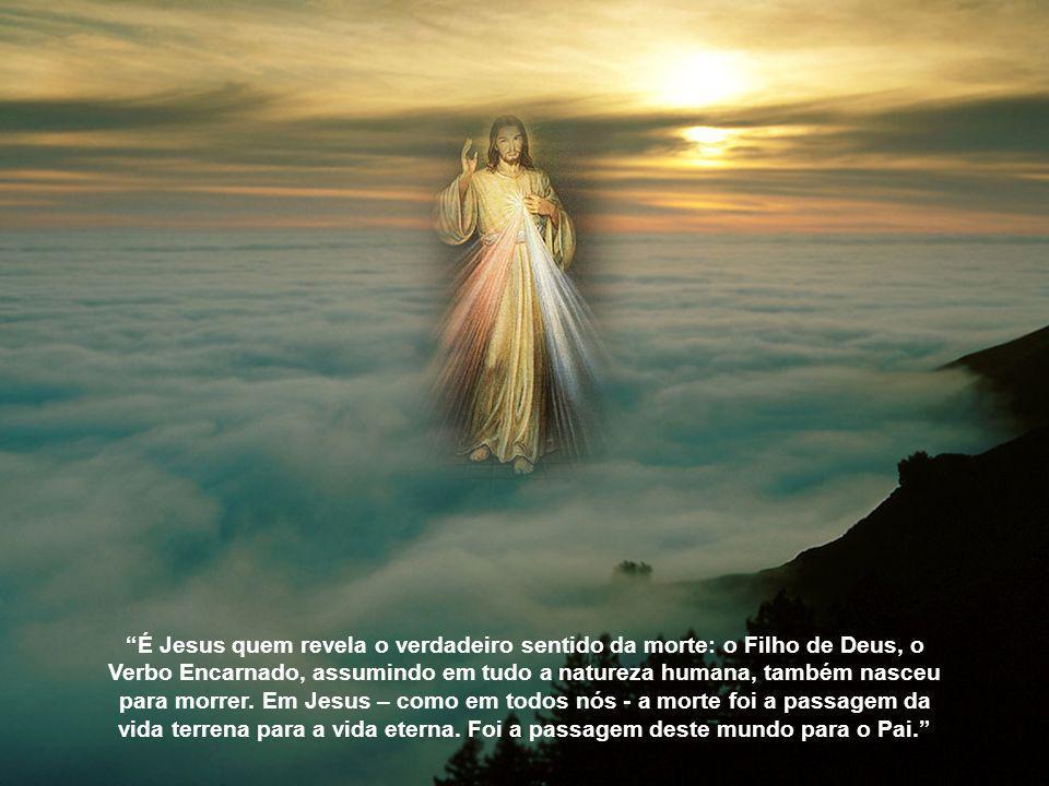 Diz o livro da Sabedoria: Deus não é o autor da morte. Ele criou tudo para a existência. (Sb 1, 13a,14a) Assim sendo, um Deus que é pai, amor, ternura
