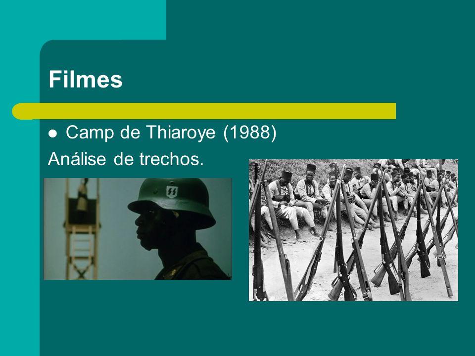 Filmes Camp de Thiaroye (1988) Análise de trechos.