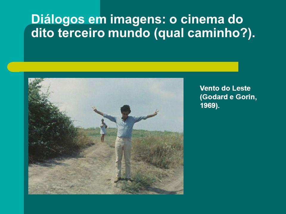 Diálogos em imagens: o cinema do dito terceiro mundo (qual caminho?). Vento do Leste (Godard e Gorin, 1969).