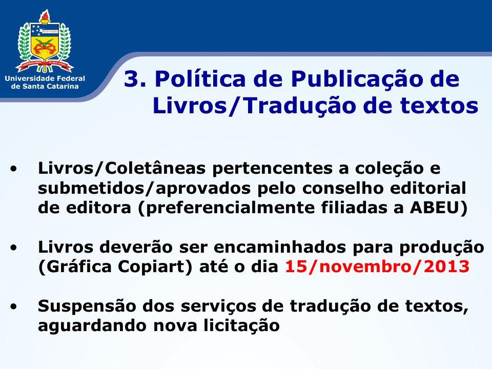Resultados Edital CAPES Pró-Equipamentos 2013 Ciência dos Alimentos.............