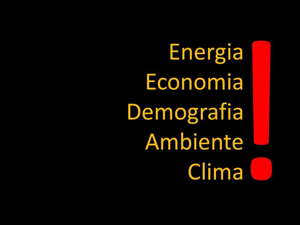 Energia Economia Demografia Ambiente Clima !