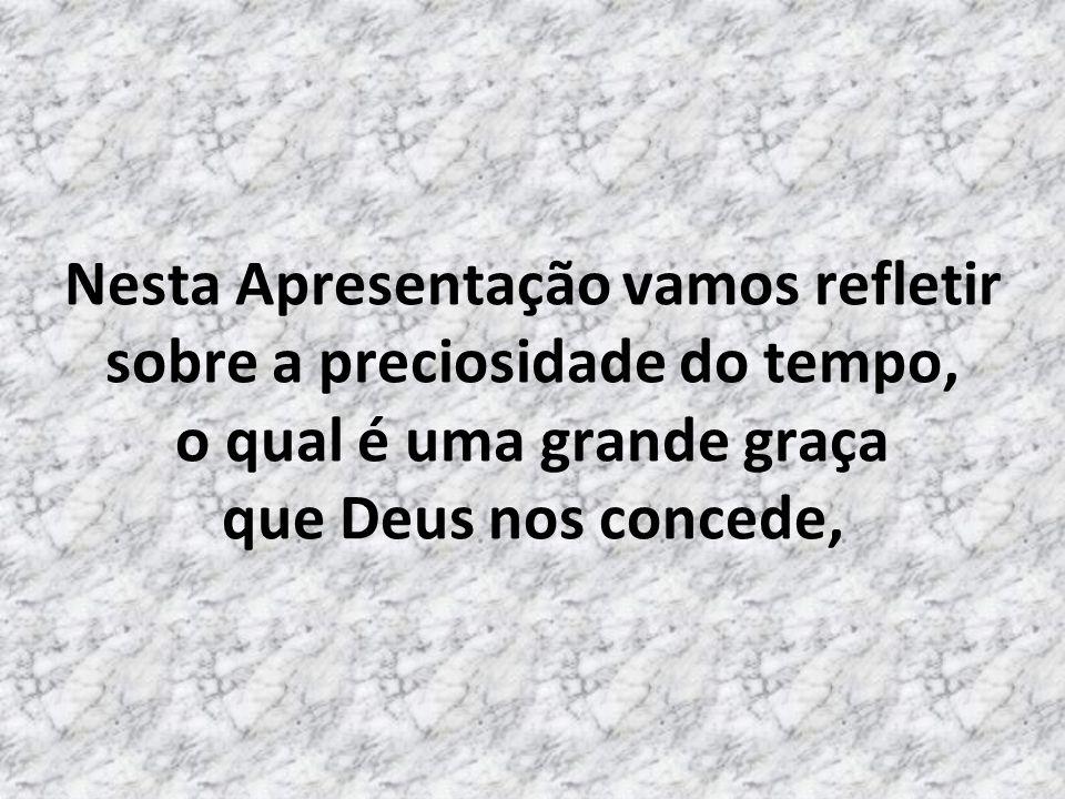 Olá, a paz de Jesus! LIGAR O SOM E DEIXAR CAMINHAR SOZINHO...