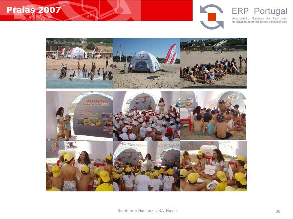 Praias 2007 Seminário Nacional JRA_Nov08 26